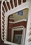 Boulevard des Déportés 36, Tournai, cage d'escalier (© APEB, photo 2004).