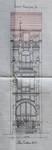 Rue Luther 28, Bruxelles Extension Est, projet de modification du comble, AVB/TP 15250 (1909).