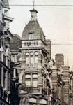 Avenue Louis Bertrand 53-61, Schaerbeek, détail d'une carte postale ancienne (Maison des Arts de Schaerbeek).