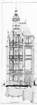 Boulevard Clovis 85-87, Bruxelles Extension Est, second projet, élévation avant, AVB/TP 25399 (1900).