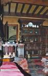 Square Ambiorix 11, Bruxelles Extension Est, rez-de-chaussée, salle à manger, vue vers l'avant (© SPRB-BDU, photo APEB 2003).