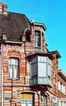 Rue des Volontaires 1, Tournai, étage (© APEB, photo 2002).