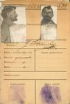 Militaire identiteitskaart van Gustave Strauven, achterzijde (Documentatiecentrum van het Belgisch Leger).