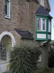 Hoge Duinenlaan 6, De Panne, Villa 'Les Sablines', erker op de rechter zijgevel (© T. Verhofstadt, foto 2019)