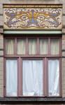 Rue Peter Benoit 2-4 et chaussée de Wavre 517-519, Etterbeek, deuxième travée au deuxième étage (© APEB, photo 2016).