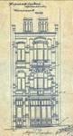 Chaussée de Louvain 237-239, Saint-Josse-ten-Noode, élévation, ACSJ/Urb. 6117 (1901).