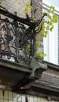 Chaussée de Louvain 235, Saint-Josse-ten-Noode, premier étage, balcon (© APEB, photo 2016).
