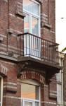 Rue Vanderhoeven 22, Saint-Josse-ten-Noode, premier étage, balcon (© APEB, photo 2015).