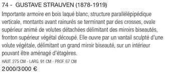 Catalogus <i>Tajan, L'Europe Art Nouveau</i>, Espace Tajan, Parijs, 23.09.2010, p. 45.