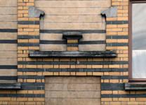Rue Peter Benoit 2-4 et chaussée de Wavre 517-519, Etterbeek (© APEB, photo 2016).