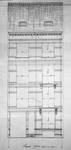 Rue Rasson 43-45, Schaerbeek, élévation, ACS/Urb. 231-43-45 (1906).