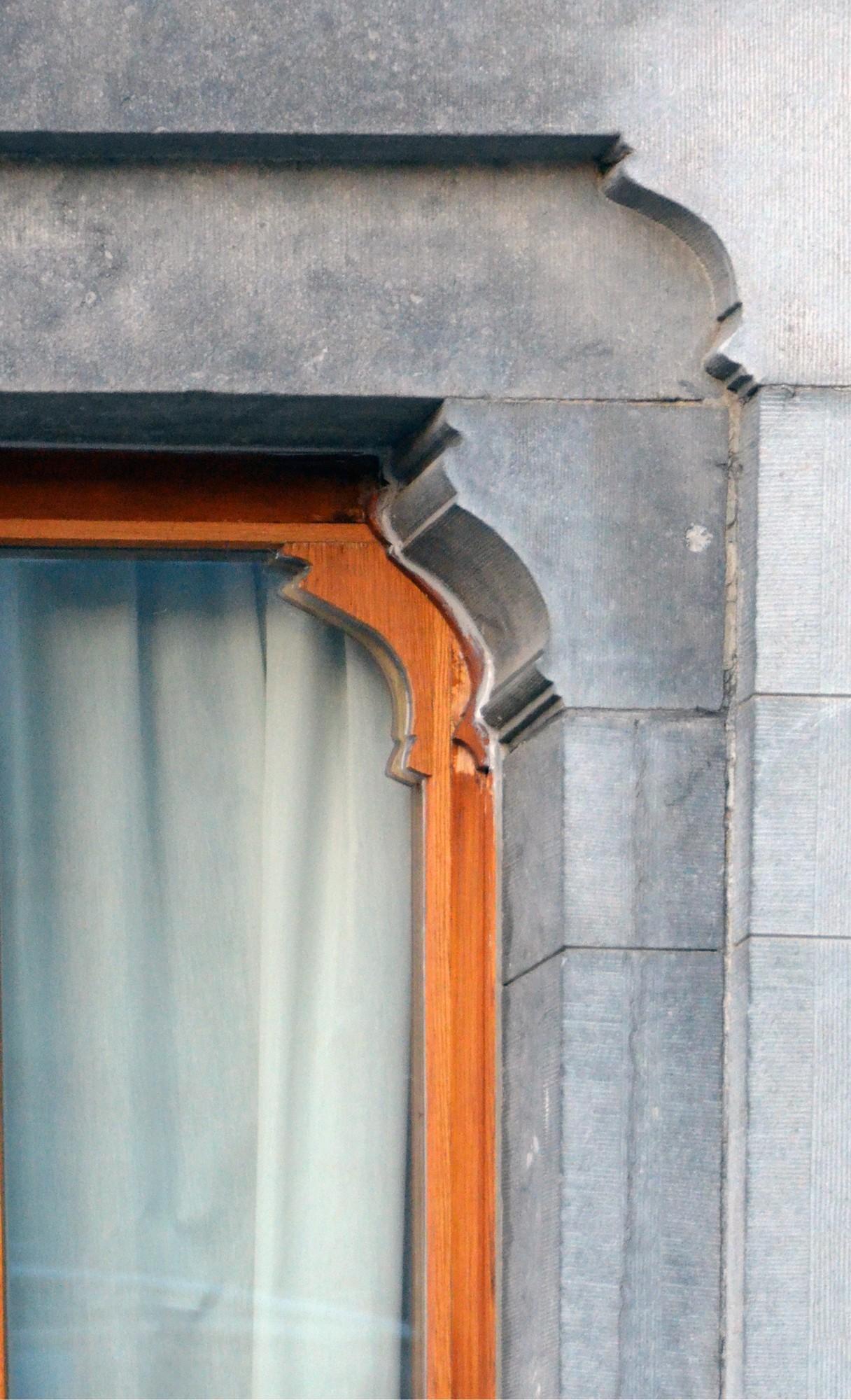 Rue joseph ii 148 150 bruxelles extension est gustave - Fenetre rez de chaussee ...